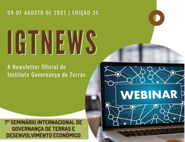 IGTNews – Edição 35 – 09 Agosto 2021