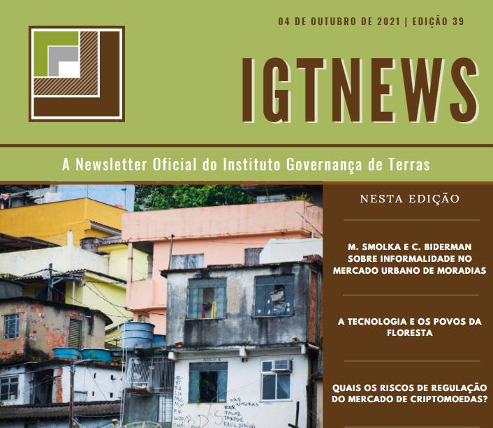 IGTNews – Edição 39 – 04 Outubro 2021